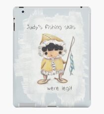 Eskimo Judy Fishing iPad Case/Skin