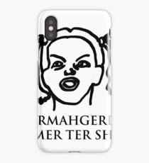 Ermahgerd Its Mer Ter Shert! Ermahgerd Girl. Oh My iPhone Case/Skin