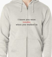 I knew you were trouble - TS T-Shirt