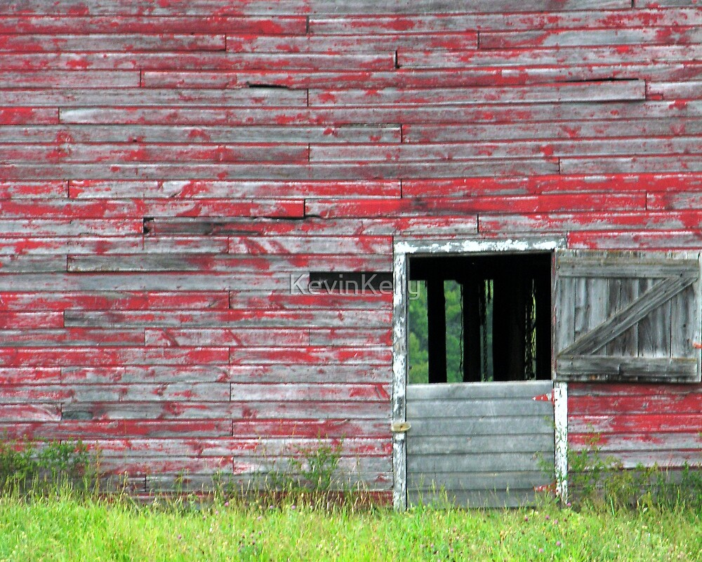 The old barn door. by KevinKelly