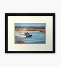 Airboat Rides Framed Print
