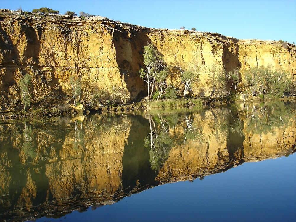 river reflection by stoodley