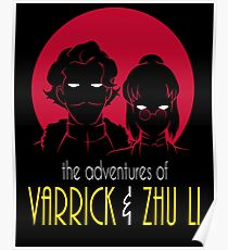 The Adventures of Varrick & Zhu Li Poster