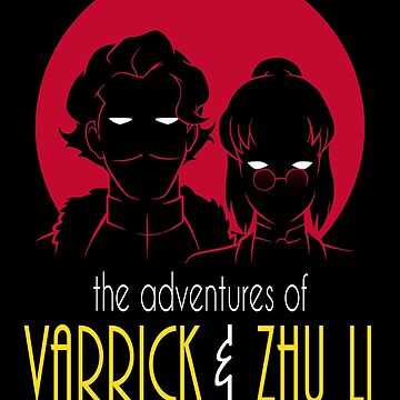 The Adventures of Varrick & Zhu Li by cattocc