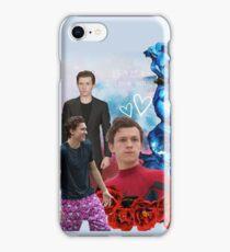 Tom Holland Floral  iPhone Case/Skin