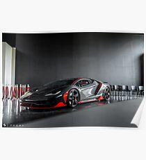Lamborghini Centenario Poster