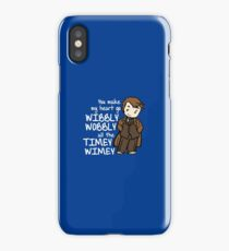 You Make My Heart Go Wibbly Wobbly iPhone Case/Skin