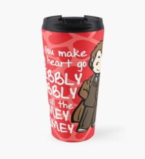 You Make My Heart Go Wibbly Wobbly Travel Mug