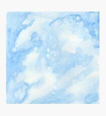 Light Blue Photographic Print
