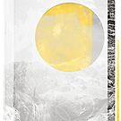Golden Mountain Sun by iamsla