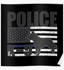 POLICE K-9 Poster
