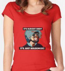 Hot Fuzz - Es ist nur Bolognese! Tailliertes Rundhals-Shirt