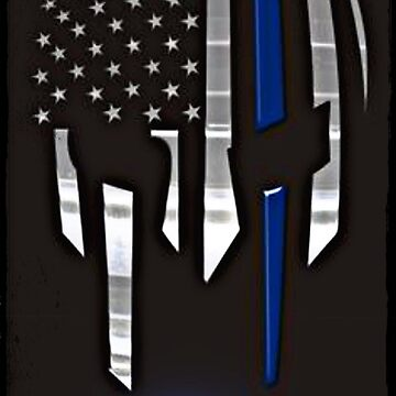 Police- Warriors bleed blue by TimShane