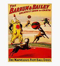 Vintage poster - Circus Photographic Print