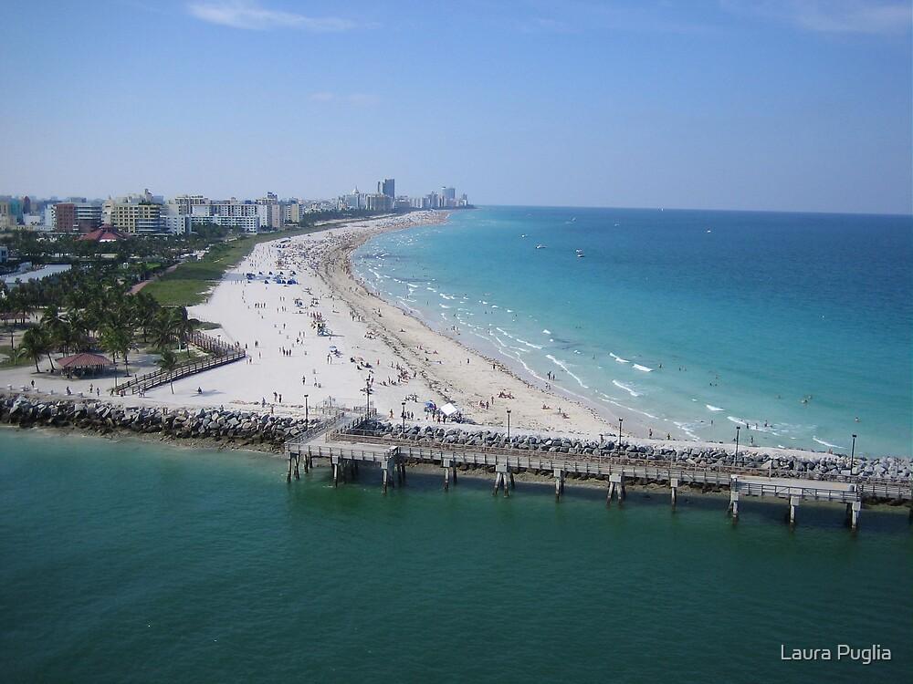 Florida Coastline in the Shipping Lane by Laura Puglia