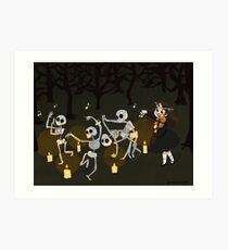 Celines Danse Macabre  Art Print