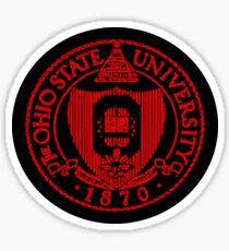 The Ohio State University, 1870 Sticker