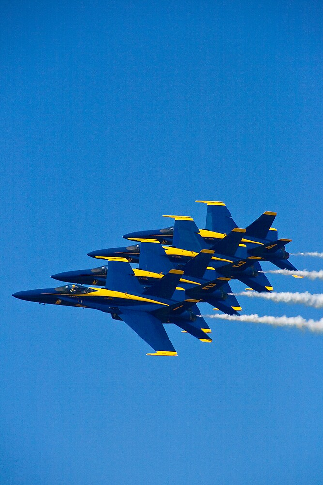 Blue Angels by MClementReilly