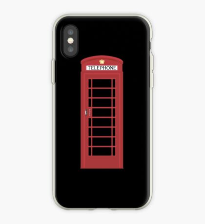 NDVH Telephone Box iPhone Case