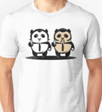 Pulp Fiction, panda Unisex T-Shirt