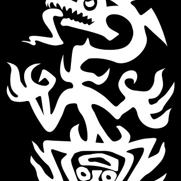 Black & White logo (evil) by allyosaugh