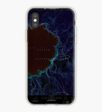 USGS Topo Map Oregon Crater Lake East 279503 1999 24000 Inverted iPhone-Hülle & Cover