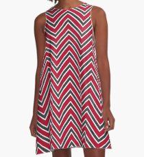 UGA Chevron Gameday Dress 5 A-Line Dress