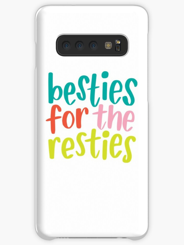 'Besties for the Restie' Case/Skin for Samsung Galaxy by BlueZillion