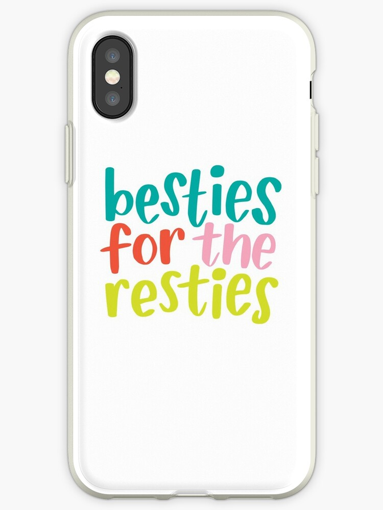 'Besties for the Restie' iPhone Case by BlueZillion