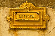 Comme Une Lettre a La Poste - French Mailbox by Buckwhite