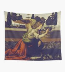 "Leonardo da Vinci ""Annunciation 1."" Wall Tapestry"