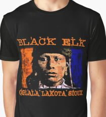 BLACK ELK-OGLALA LAKOTA SIOUX Graphic T-Shirt