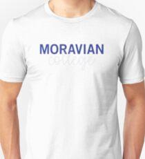 Moravian College (Cursive 2) T-Shirt