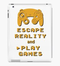 Escape Reality Play Video Games iPad Case/Skin