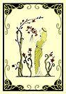 Grace - Art Nouveau by Linda Callaghan