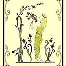 Grace - Art Nouveau by Linda Callaghan