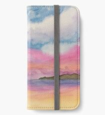 Watercolor Sunset iPhone Wallet/Case/Skin