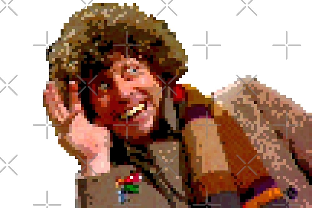 8-Bit? But he's the Fourth Doctor! by kryten4k