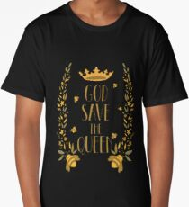 Save the Bees God Save the Queen Bee Long T-Shirt
