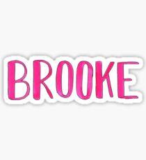 Brooke Sticker