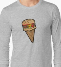 Burger Cone Long Sleeve T-Shirt