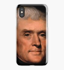 Thomas Jefferson face - Rembrandt (zwei) iPhone Case