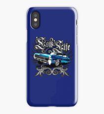 Auto Series Blue LoLo iPhone Case/Skin