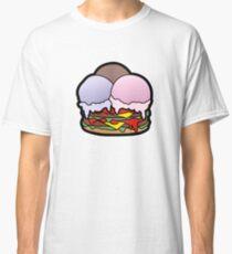 Ice Cream Scoops Burger Classic T-Shirt