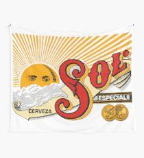 CERVEZA SOL Wall Tapestry