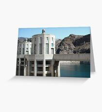 Hover Dam Greeting Card