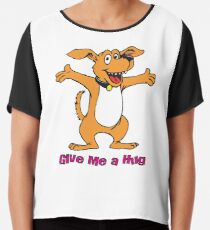 Give me a hug Chiffon Top
