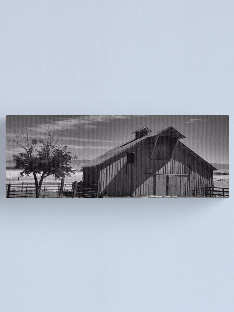 Alternate view of A Black & White World Canvas Print