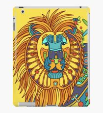 Lion, from the AlphaPod collection iPad Case/Skin