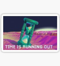 Time is running out - Fashwave - Fashion Sticker